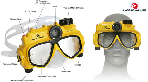 Liquid Image Underwater Digital Camera Mask » image 4