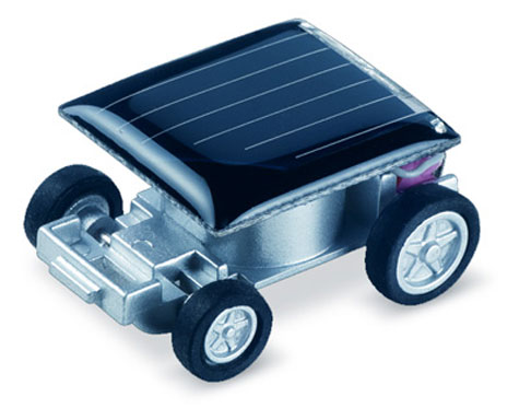 Mini Solar-Powered Car » image 1