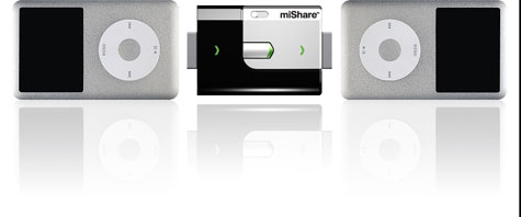 miShare: Direct iPod to iPod Transfer » image 1