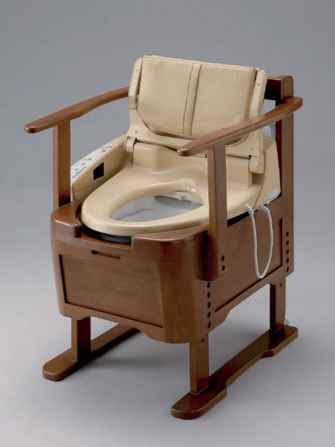 Portable Heated/Water-Spraying Toilet » image 1