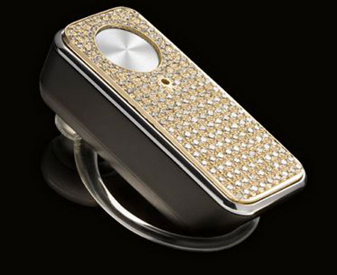 Motorolas Diamond Encrusted Bluetooth Headset » image 1