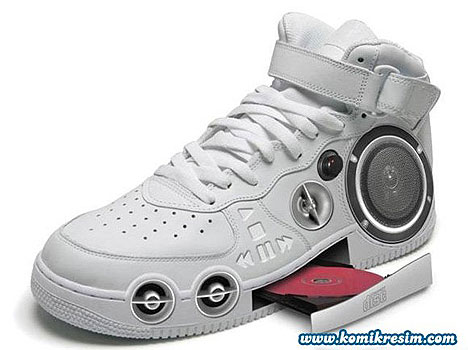Hi-tech MP3 shoes » image 1