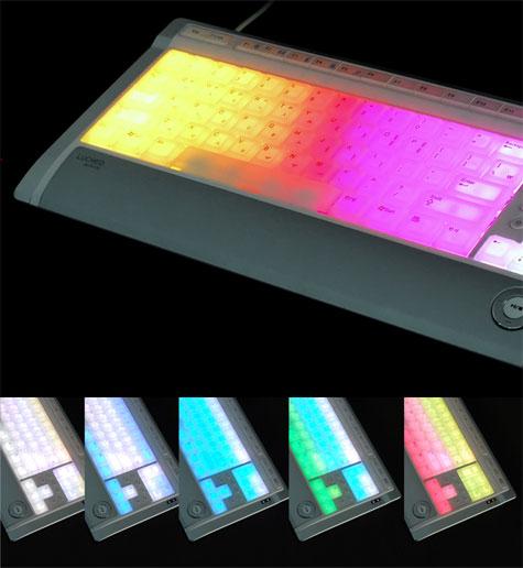 Luxeed Keyboard : Multicolor Radiant And Interactive Keyboard » image 10