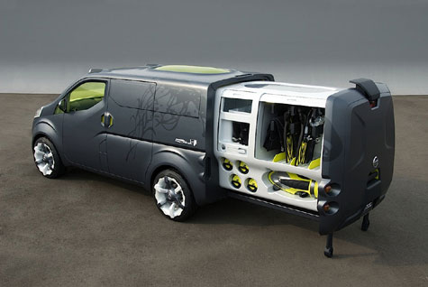 Nissan's NV200 Concept » image 3