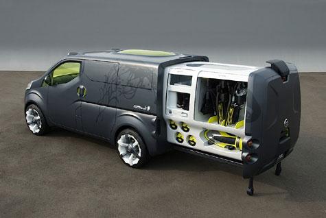 Nissan's NV200 Concept » image 3