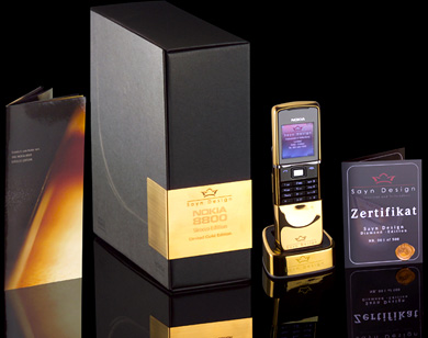 Nokia 8800 Sirocco : Diamond Style  » image nokia_diamond_3