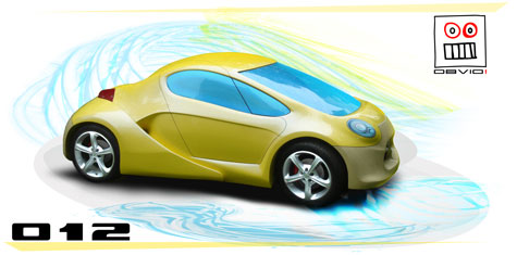 Obvio Tribrid Sports Car » image 1