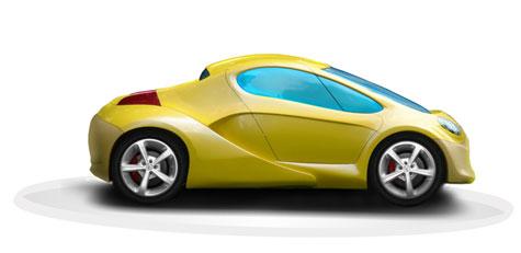 Obvio Tribrid Sports Car » image 2