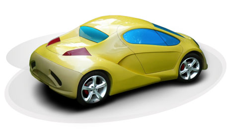 Obvio Tribrid Sports Car » image 5