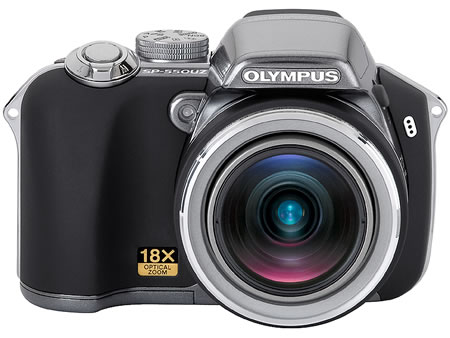 Olympus SP-550 With Wide 18x Optical Zoom Digital Camera » image 1