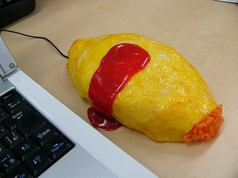 The SolidAlliance Omuraice (Rice Omelette) Mouse Cover » image 3