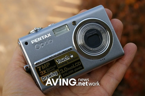 7 MegaPixel Digital Camera ?Optio T20? With 3.0-Inch Display » image 2