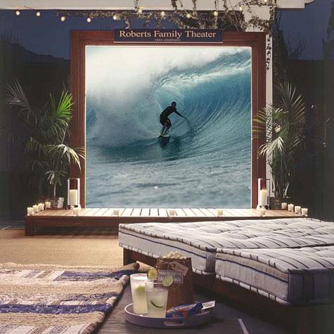 Retractable Outdoor Entertainment Set » image 1