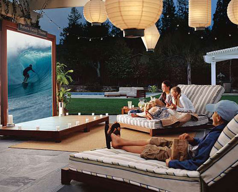 Retractable Outdoor Entertainment Set » image 2