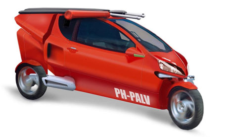 PAL-V, A Flying Gyrocopter Tricycle - Virtual University of Pakistan