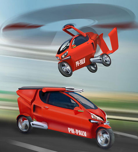PAL-V, A Flying Gyrocopter Tricycle » image 4