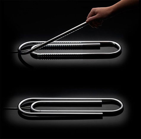 Paperclip Lamp » image 1
