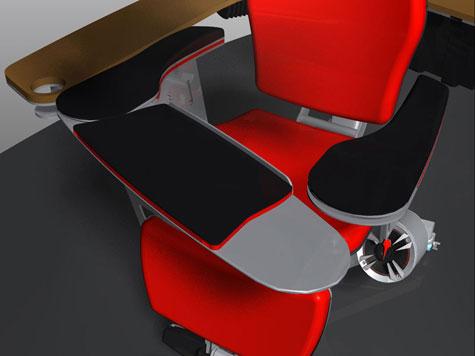 مقاعد خاصة بمستخدمي الكمبيوترات