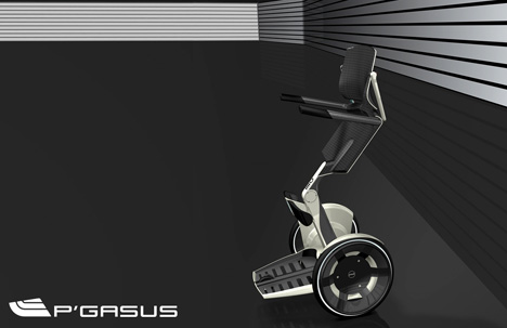 Pegasus, Upright Wheelchair » image 1