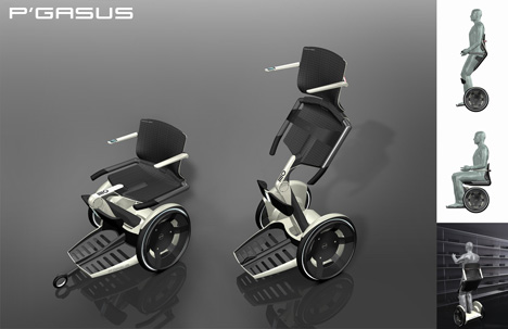 Pegasus, Upright Wheelchair » image 2