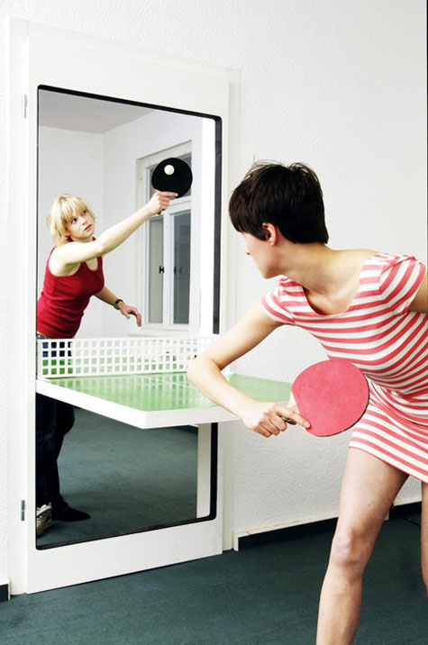 Ping Pong From A Doorway » image 2