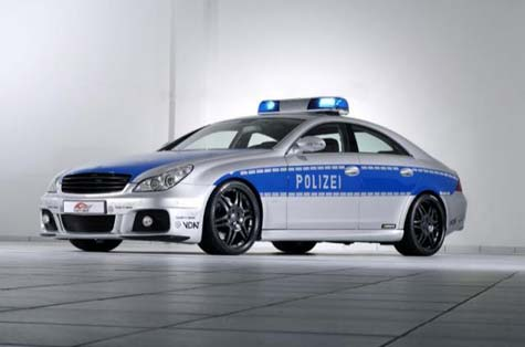 World?s fastest Police car  » image 01