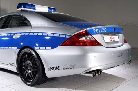 World?s fastest Police car  » image 03