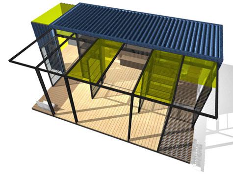 Port-a-Bach, Atelier Workshop Cabinet » image 7