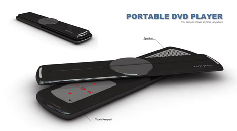 Portable DVD Player With Flexible Full-color OLED » image 1