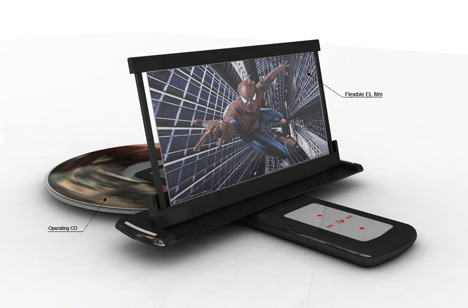 Portable DVD Player With Flexible Full-color OLED » image 2