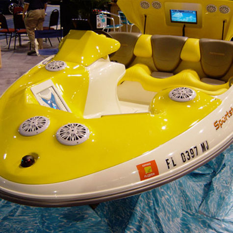 Pyle Seadoo Marine Vehicle » image 4