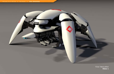 Elios RescueBot Uses its Spider Arms to Save Lives » image 2