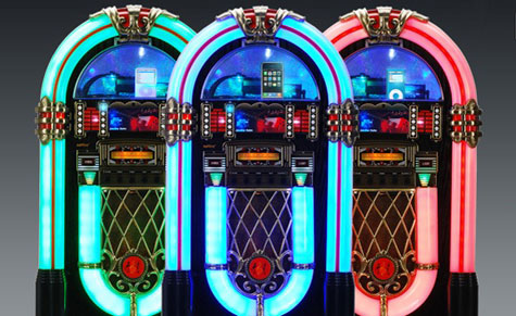 Retro Tune Mini Jukebox Guarantee To Rock With Iphone Or