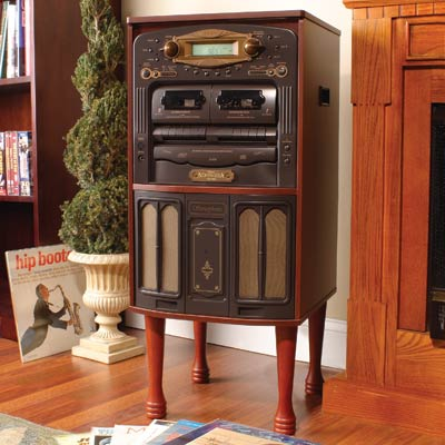 Retro Music System : CDs, LPs and Cassettes » image 1