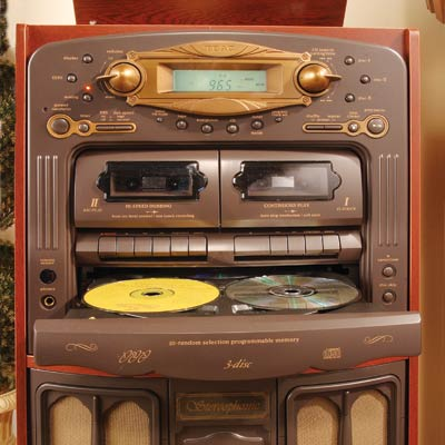 Retro Music System : CDs, LPs and Cassettes » image 2