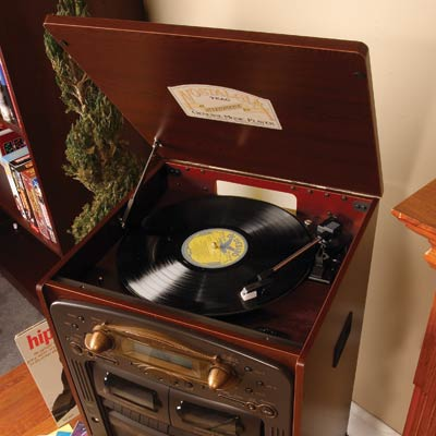 Retro Music System : CDs, LPs and Cassettes » image 3