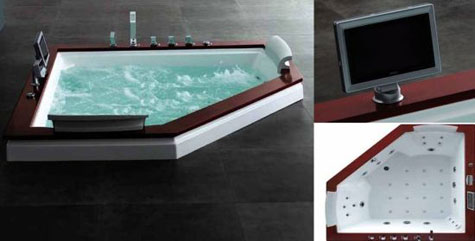 Royal A-512 Whirlpool Massage Bathtub » image 1