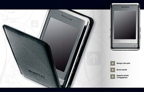 Samsung SGH-P520 Full Review And Specification » image 1