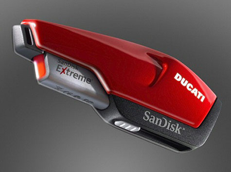 SanDisk Extreme USB Flash Drive Ducati Edition » image 4