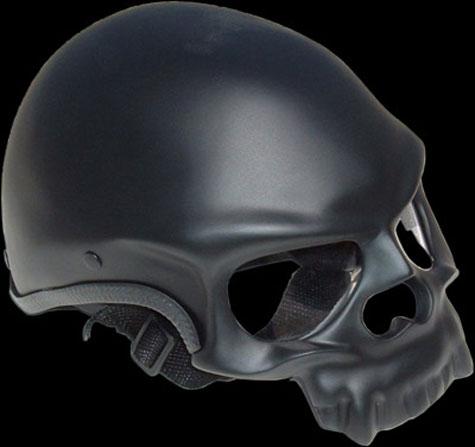 Santiago Chopper Skull Helmet » image 1