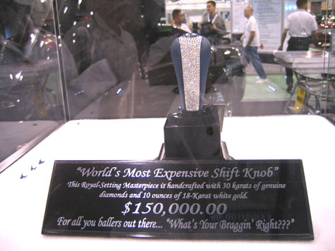 The World?s Most Expensive Shift Knob - The Diamond Crusted Folly » image 3