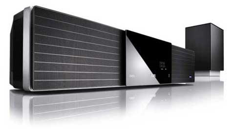 Philips does single-speaker surround with SoundBar » image 01