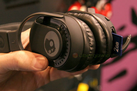 SkullCandy Headphones With Built-in SD Slot » image 1