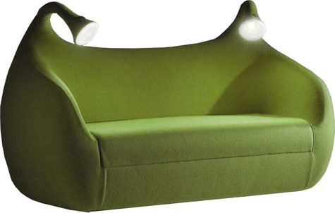 Morpheo Sofa Bed with Built-in Lamps » image 2