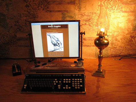 Steampunk Monitor Mod » image 2