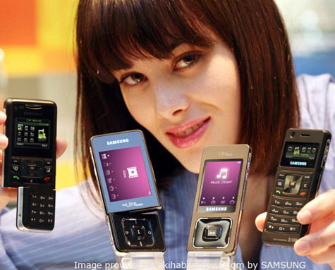 The Samsung F500 And F300 Mobile Phones » image 3