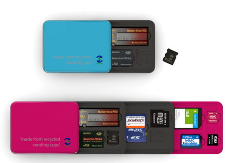 Sustainable Flash Memory Card Holder » image 2