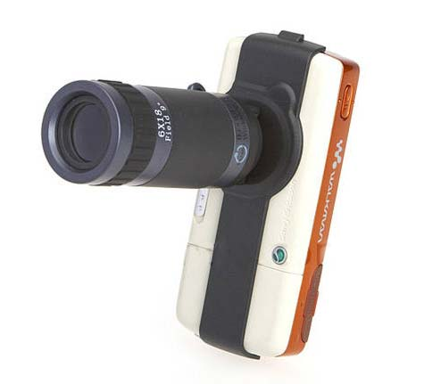 6X Zoom Telescope Accessory for Nokia, Sony Ericsson » image 01