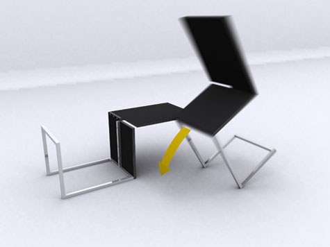Transformable Table Chair » image 2