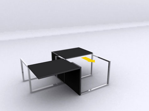 Transformable Table Chair » image 3